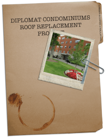 Warren Roofing Diplomat Condominiums Case Study