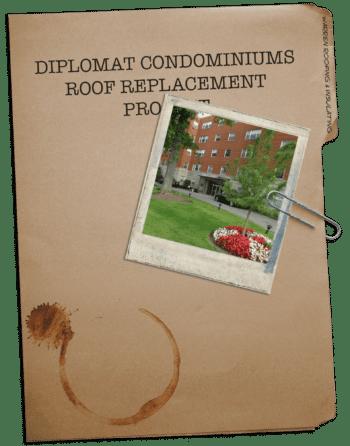 Warren Roofing® Diplomat Condominiums Case Study