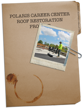 Polaris Career Center Roof Replacement Warren Roofing